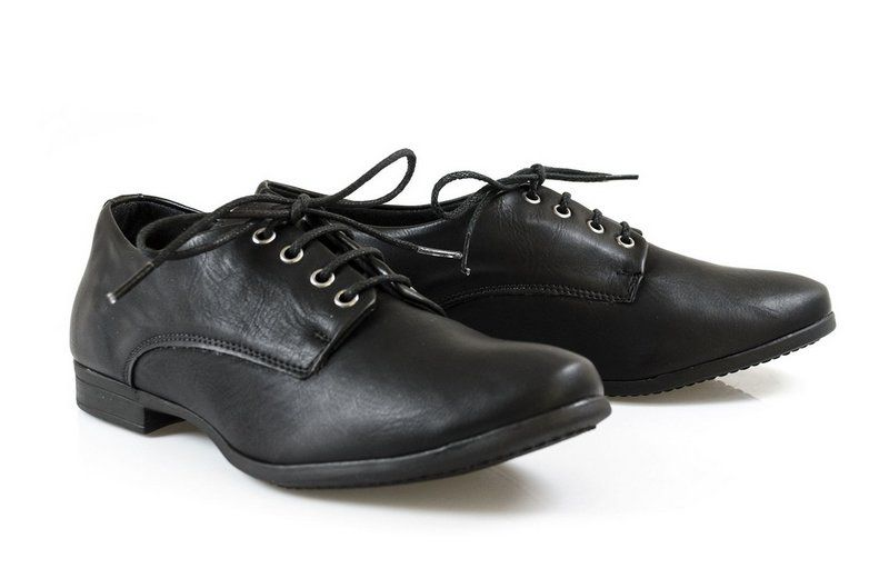 Sapato Vegano Shoes Derby Preto
