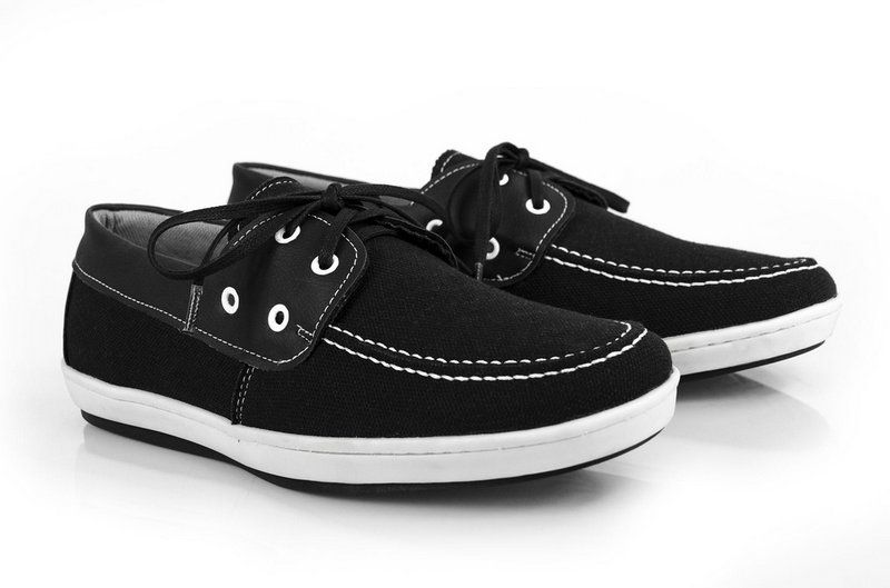 Sapato Vegano Shoes dock side preto