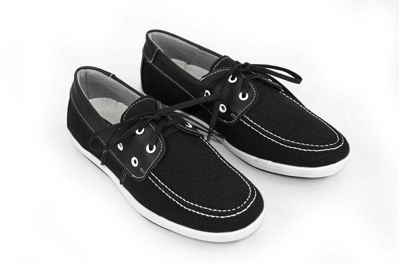 Sapato Vegano Shoes dock side preto