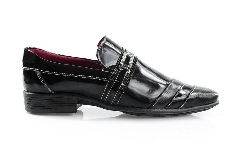 Sapato Vegano Shoes Jacarandá Verniz Preto