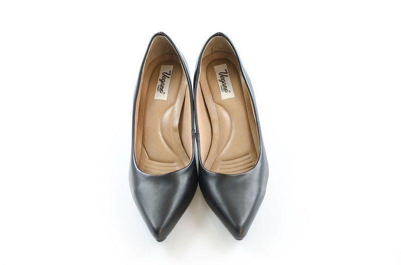 Sapato Vegano Shoes Scarpin Aequimea preto