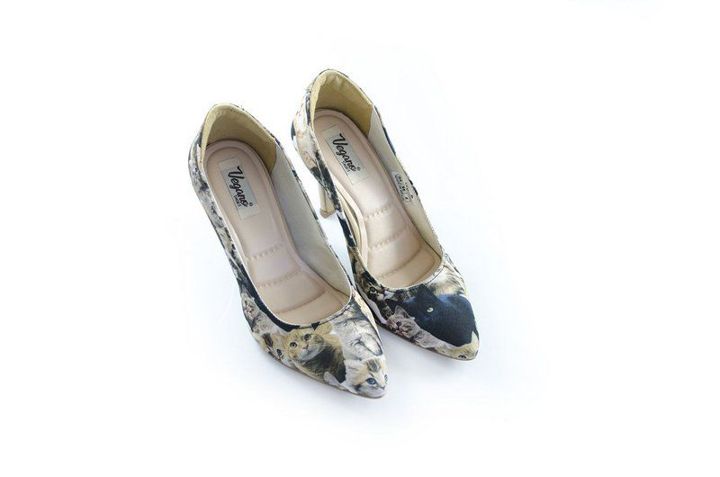 Sapato Vegano Shoes Scarpin  Spirea Cat
