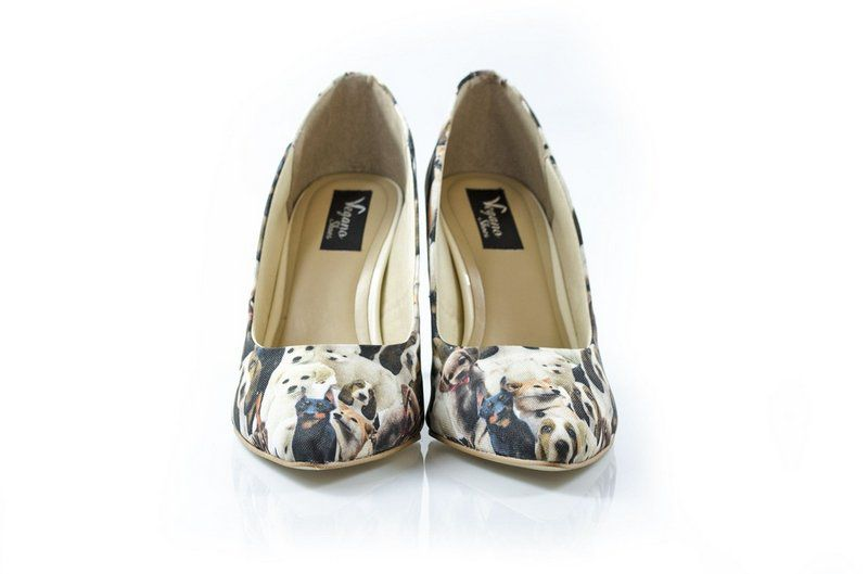 Sapato Vegano Shoes Scarpin  Spirea Dog
