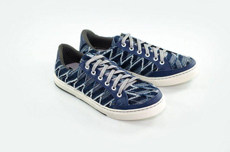 Tênis casual Vegano Shoes - Azul
