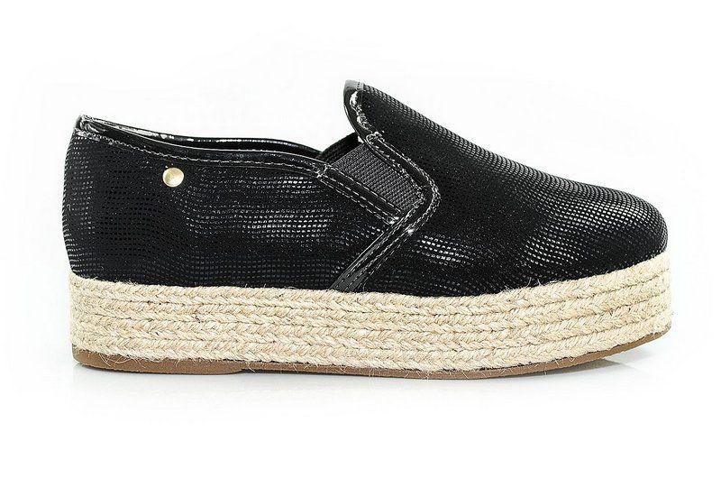 Tênis Flatform Vegano Shoes Pândanos Preto