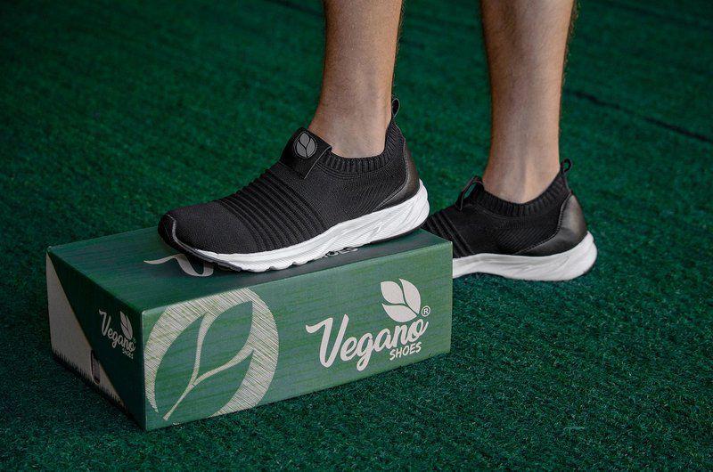 Tênis Meia Vegano Shoes Soft Tread Preto