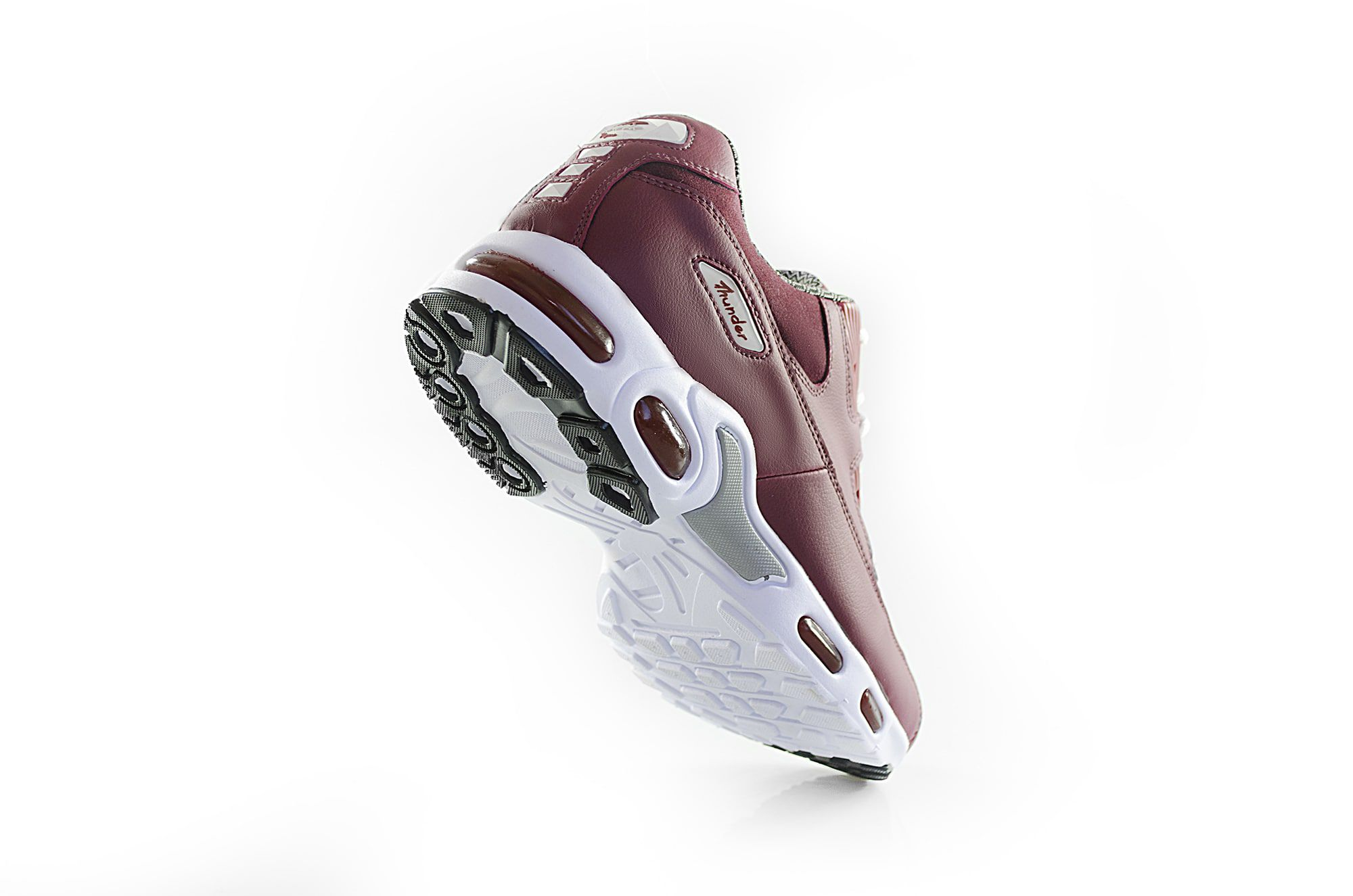Tênis Vegano Shoes Air Damper Thunder Marsala