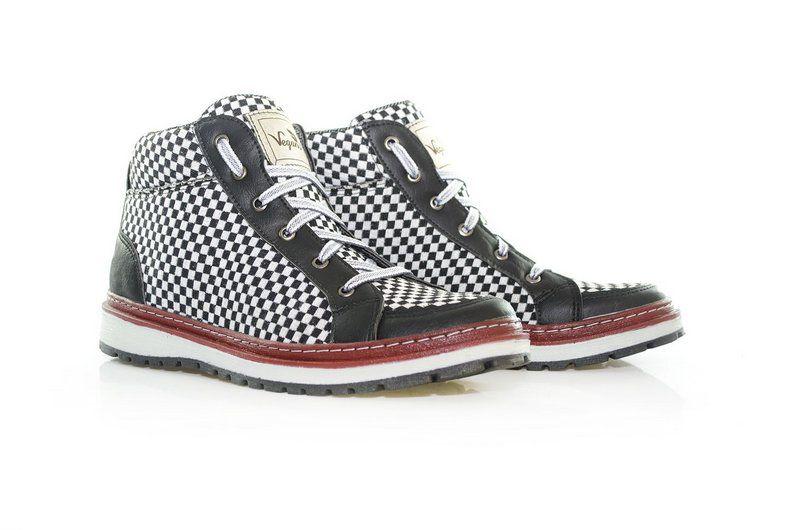 Tênis Vegano Shoes Álamo preto/branco