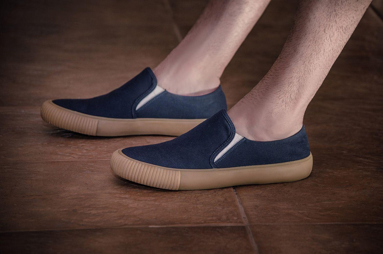 Tênis Vegano Shoes Avalon Vulcanizado Azul