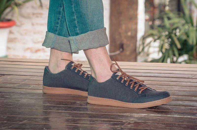 Tênis Vegano Shoes Cosmos Streetwear Chumbo