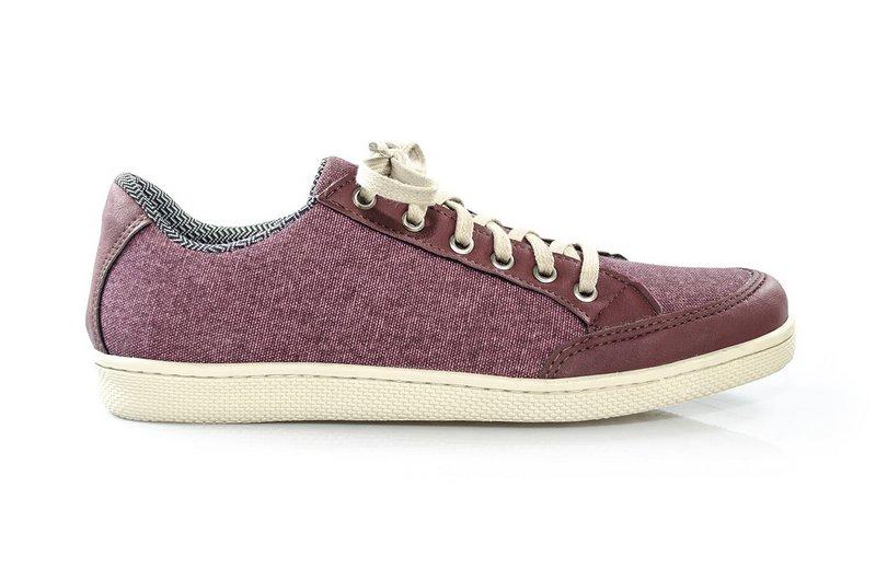 Tênis Vegano Shoes Cosmos Streetwear Marsala