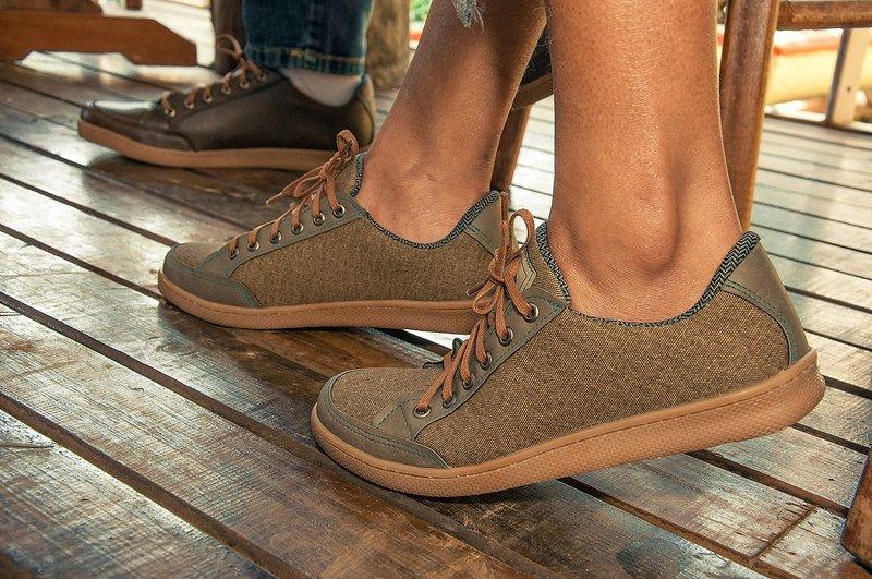 Tênis Vegano Shoes Cosmos Streetwear Militar