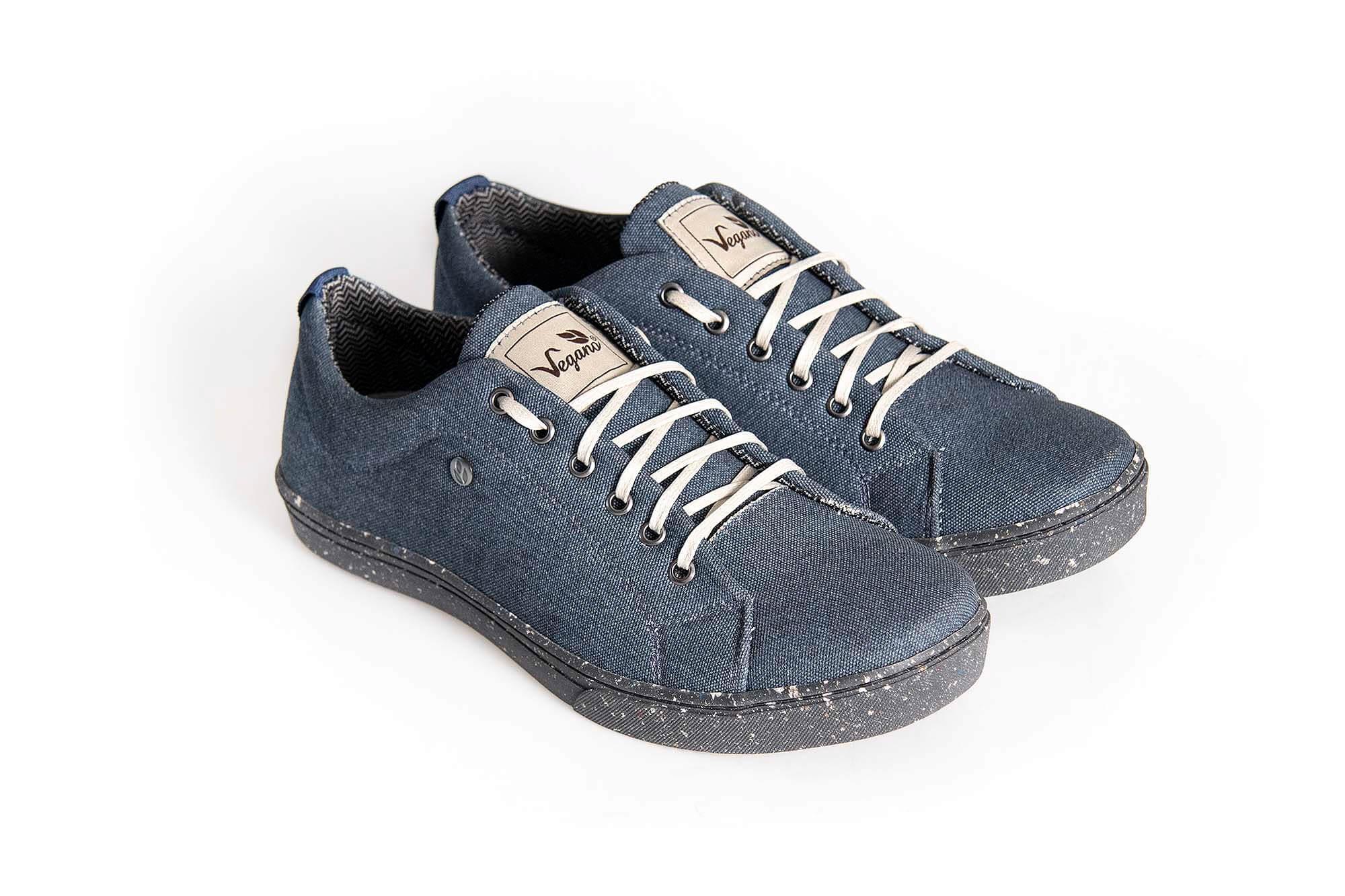 Tênis Vegano Shoes Street Azul Petróleo