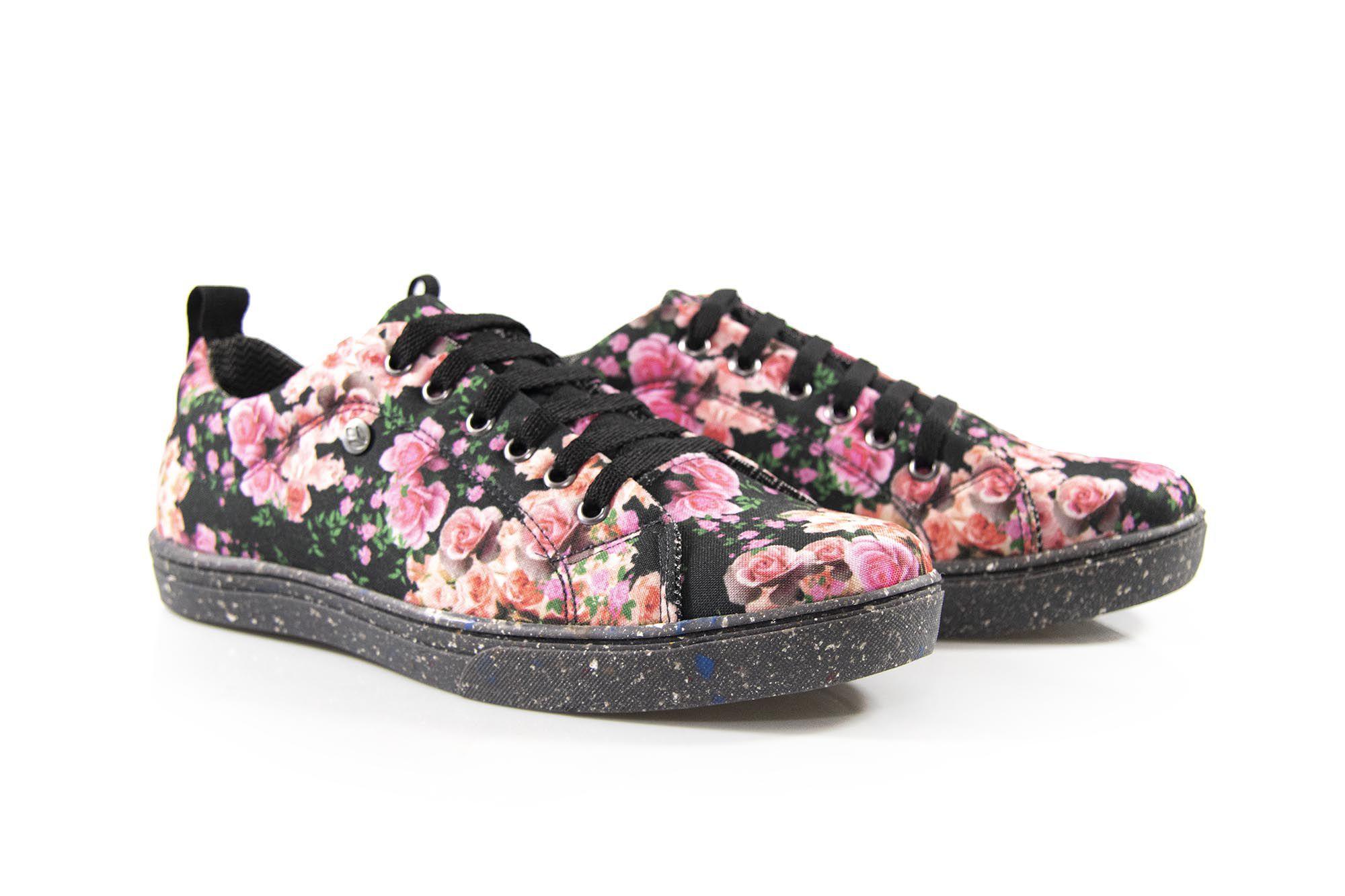 Tênis Vegano Shoes Street Floral