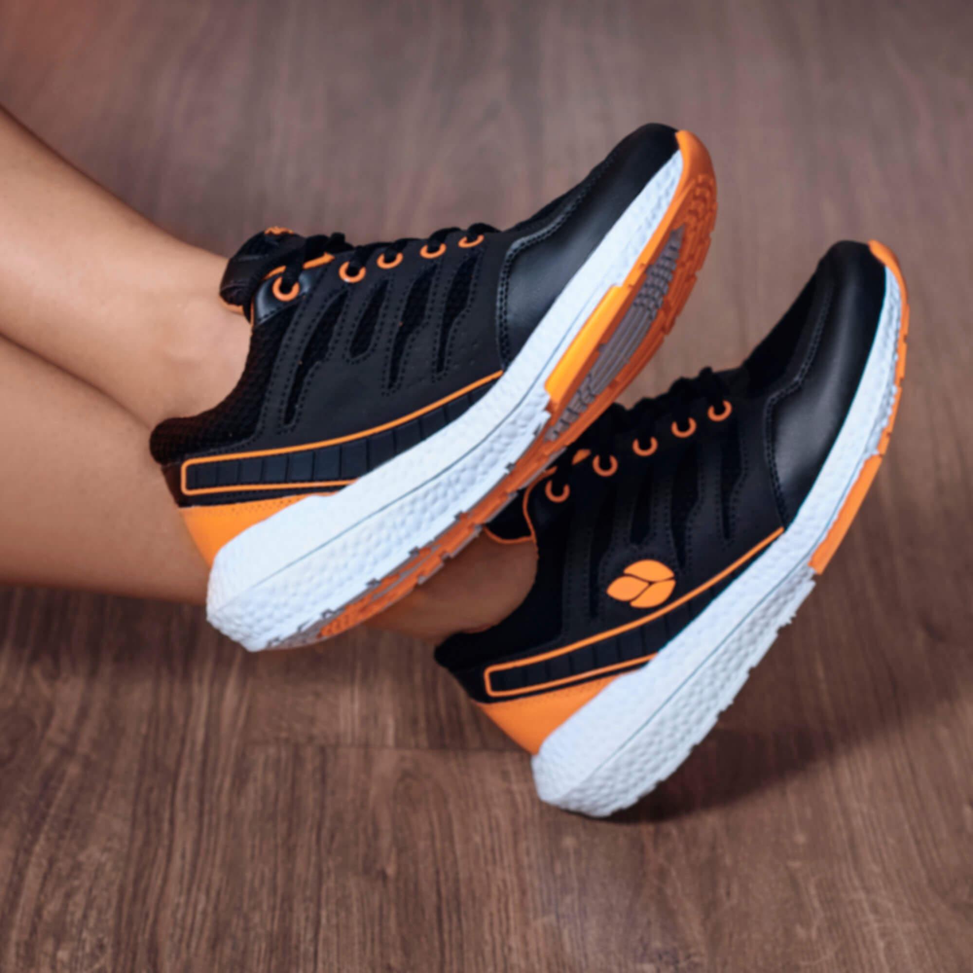 Tênis Vegano Shoes Strong Boost Vegan Laranja