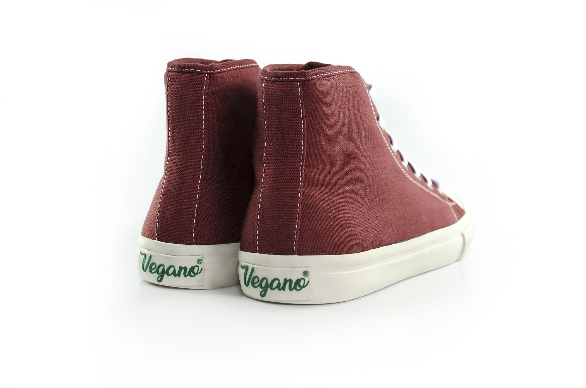 Tênis Vegano Shoes Torênia Vulcanizado Marsala