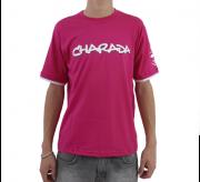 Camiseta CHARADA Rosa Interrogação nas Costas