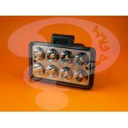 Farol de LED Retangular 8 LED 12V