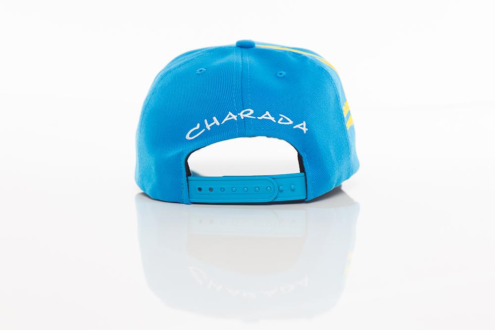 Boné CHARADA Azul Aba CURVA Performance Edition VOLVO