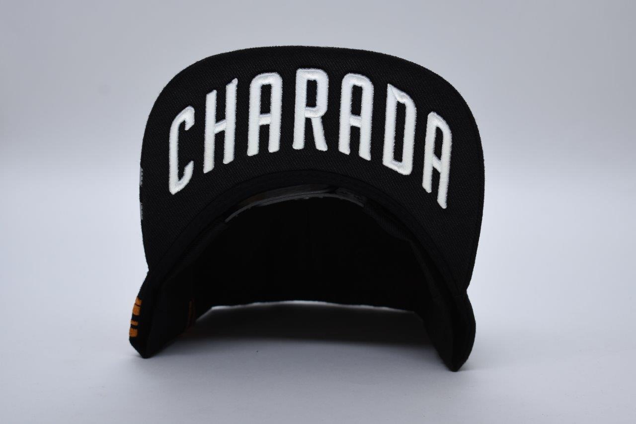 Boné CHARADA Preto Aba Reta Performance Edition VOLVO