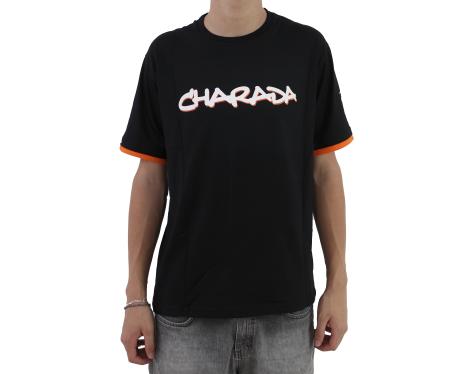 Camiseta CHARADA Preta Carinha nas Costas