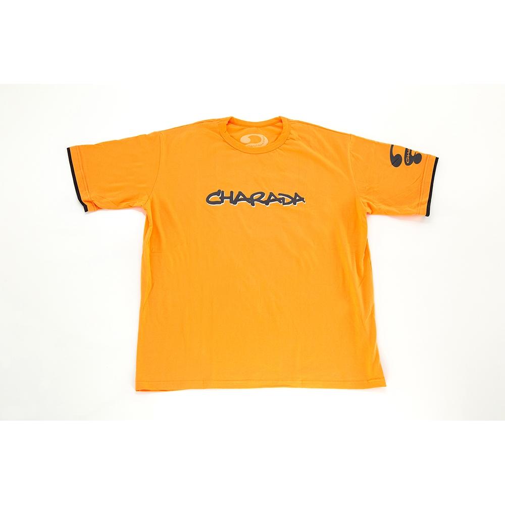 Camiseta  PROMOCIONAL CHARADA Laranja clara Interrogação