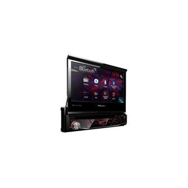 "DVD PLAYER 1DIN USB FRONTAL/AUX/BLUETOOTH 7"" AVH3180BT PIONEER"