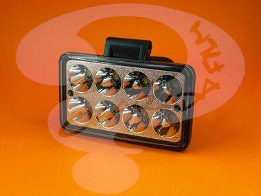 Farol de Milha em LED para Iveco Daily Retangular 8 LED (Cada) até Ano 2006
