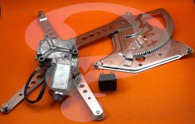 Kit de Vidro Elétrico Lado do Motorista SCANIA 113 CHARADA (Máquina, Motor e Botão)