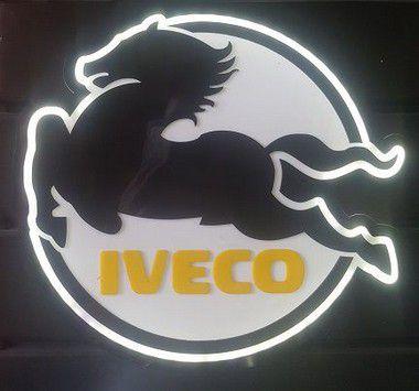 Logomarca Iveco em Acrílico com LED