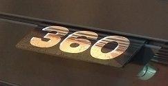 Placa Potência 360 SCANIA em Acrílico CHARADA