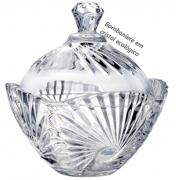Bomboniere potiche de cristal classica A12x12 enfeite decorativo vidro
