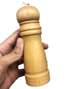 moedor de pimenta temperos sal grosso madeira 15cm triturador de saleiro especiarias
