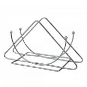 Porta guardanapo de mesa cozinha metal 14x4x8 cm