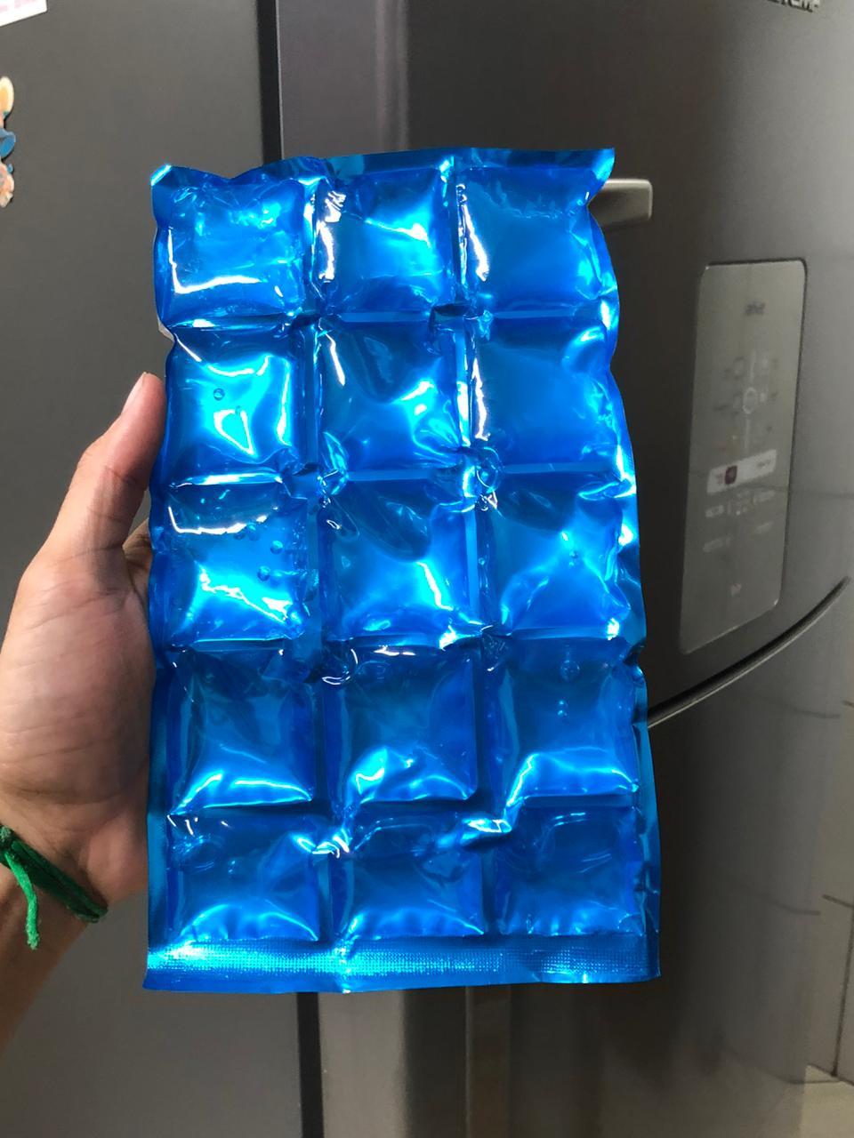 bolsa termica gel frio gelo compressa coolers e isopor gelo artificial