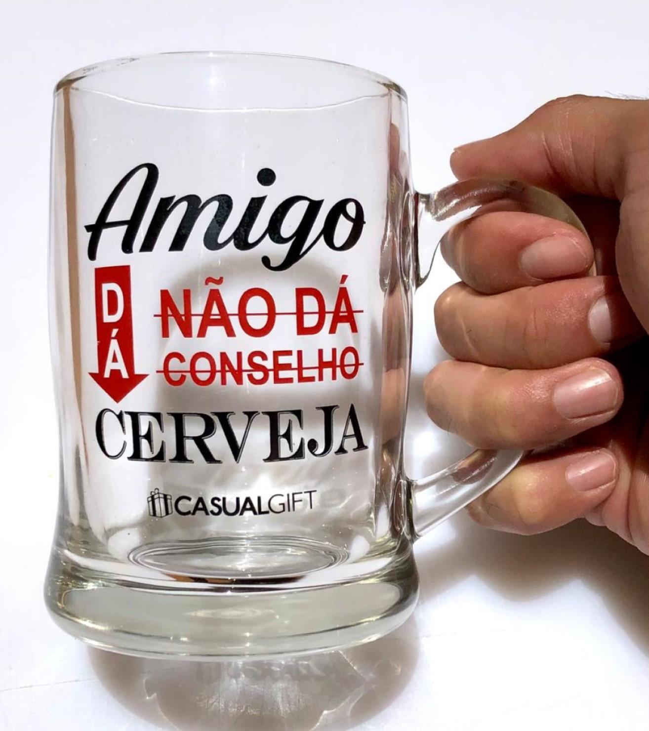caneca de cerveja chop de vidro divertida 400ml copo caneca chopp criativa