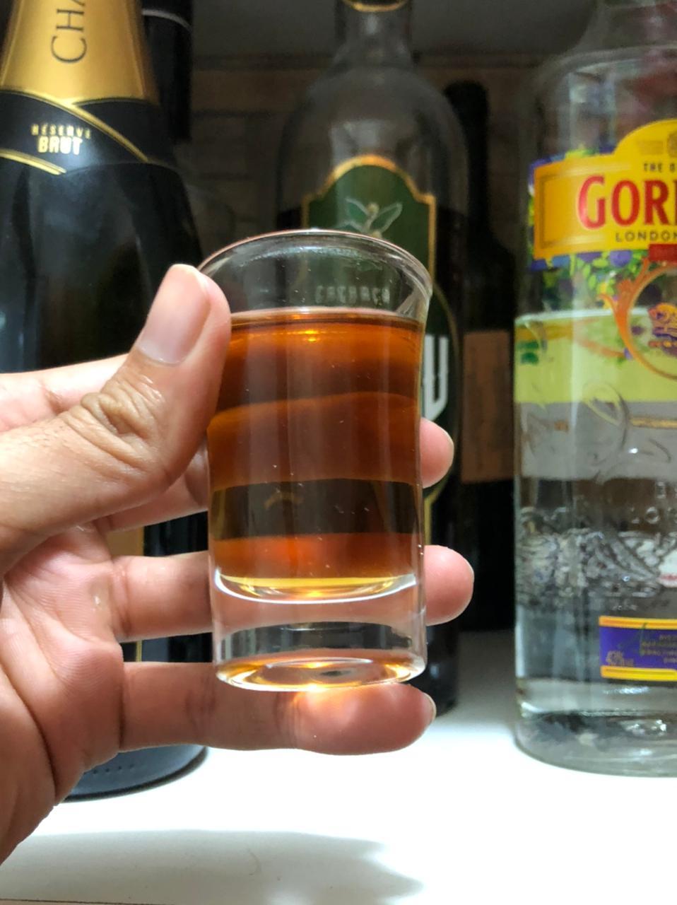 copo shot dose vidro tequila whisky vodka licor bebidas jogo 6 copos 40mL bar