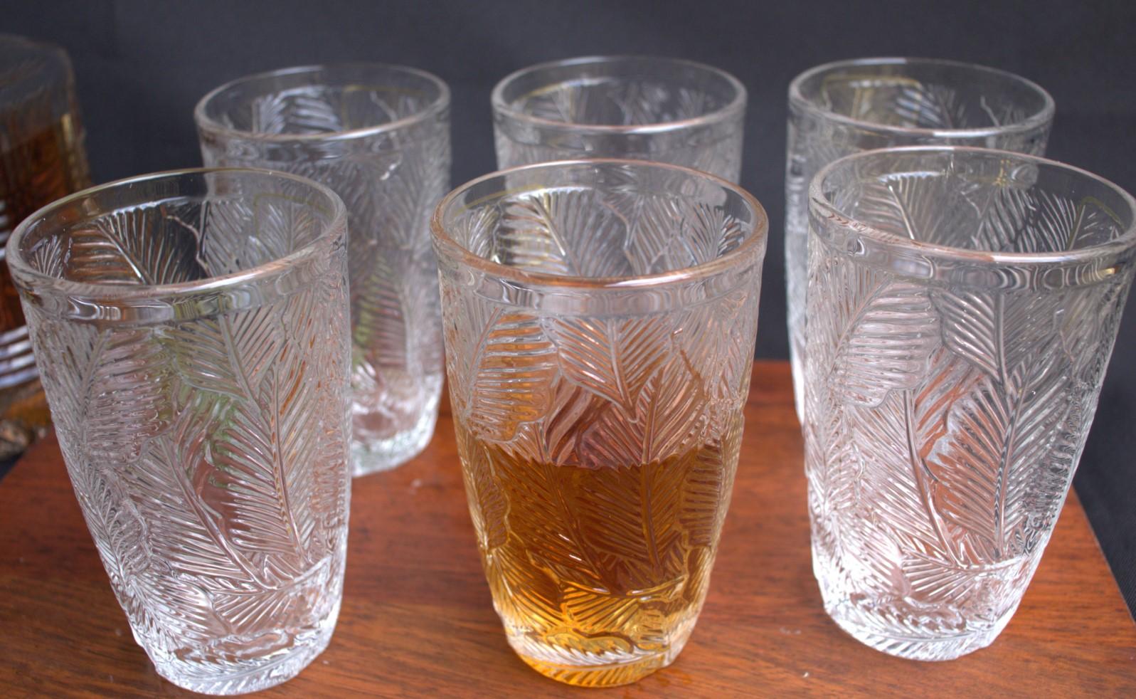 Copos de suco caipirinha 6 unidades vidro luxo 355mL copo para bebidas