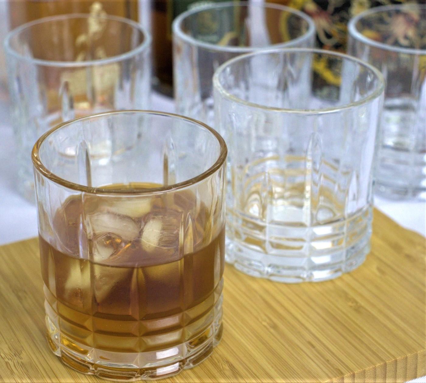 Copos de whisky caipirinha 6 unidades vidro luxo 315mL copo para uisque bebidas
