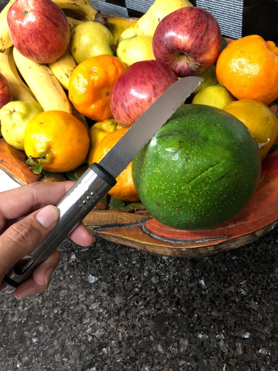 Faca para legumes saladas frutas de aço inox 21cm MimoStyle