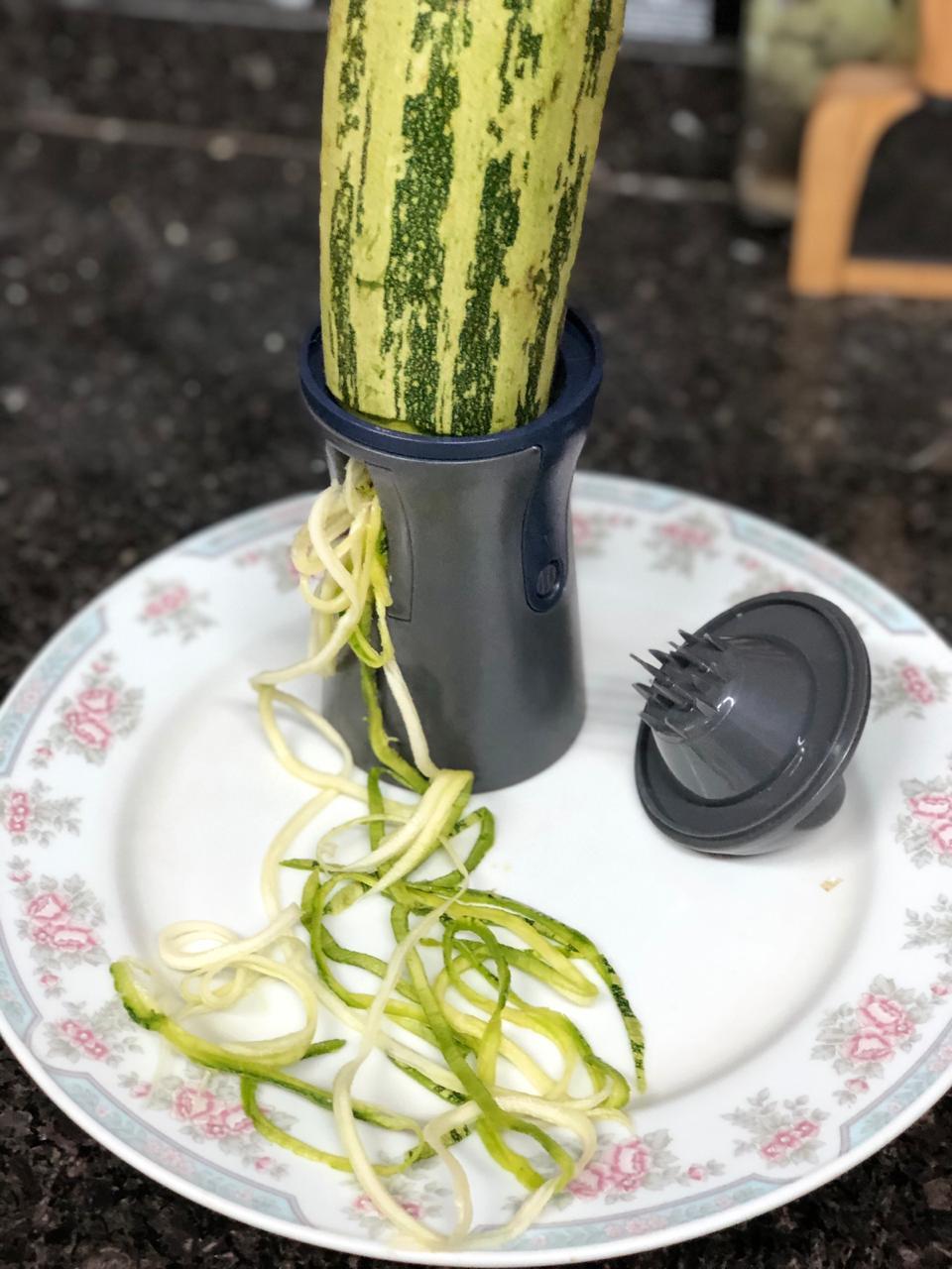 Fatiador cortador ralador de legumes vegetais macarrão abobrinha