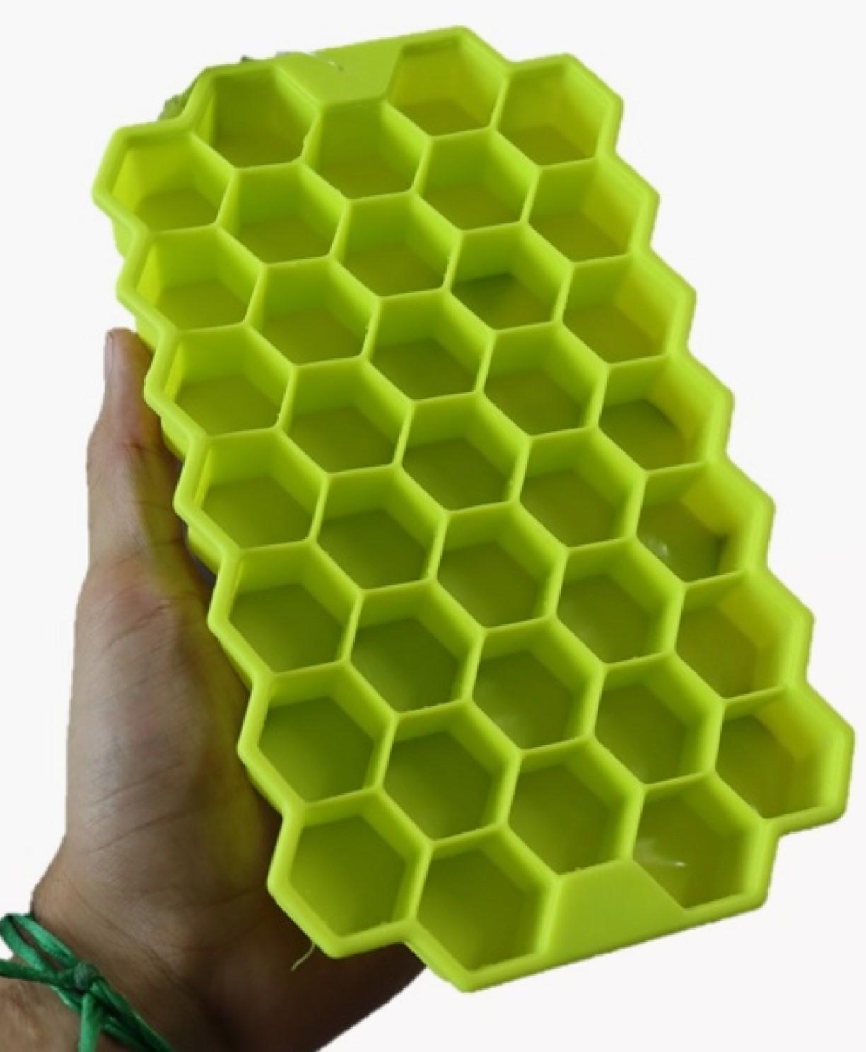forma de gelo silicone papinha 37 cubos verde sem bpa forminhas para gelo