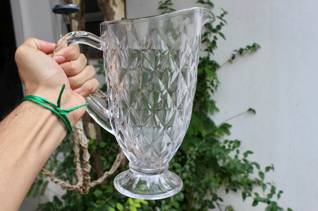 Jarra de suco de vidro 1,2 Litros Mimo Style