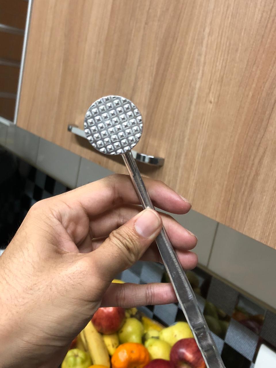Martelo para carne batedor amaciador bife 20cm MimoStyle