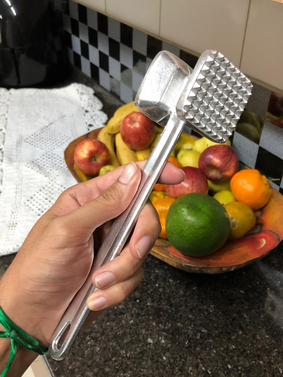 Martelo para carne batedor amaciador bife 22 cm MimoStyle