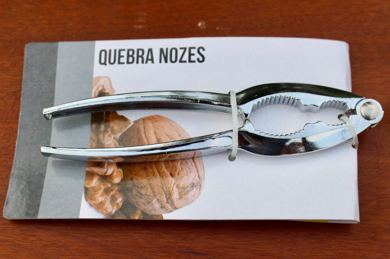 Quebra Nozes Mimo Style Alicate 16cm abridor de castanhas
