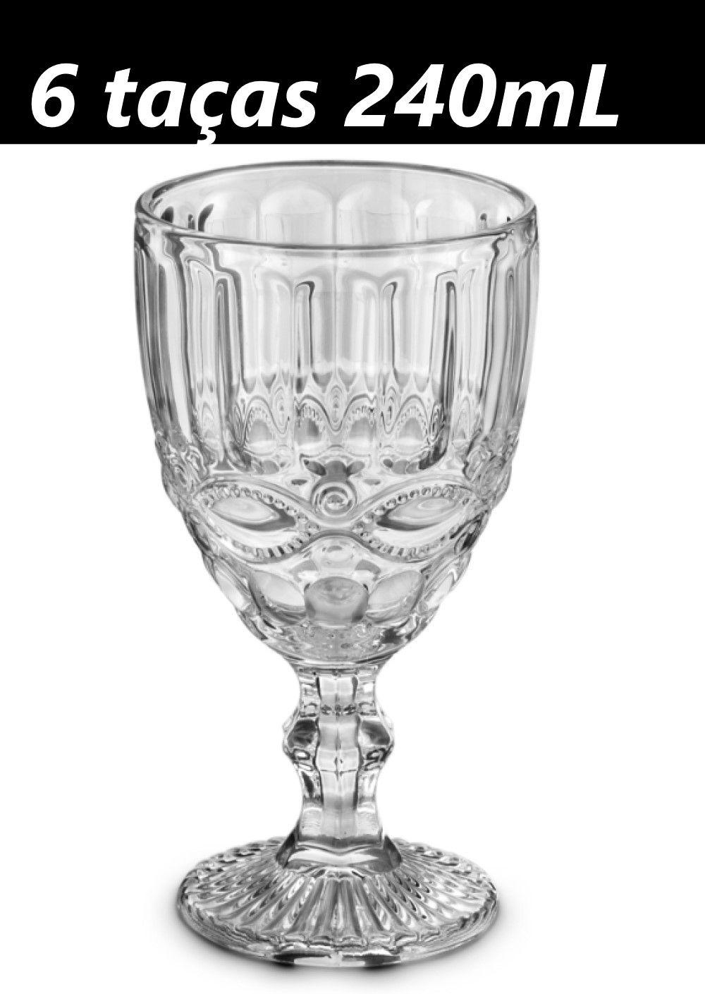 taça de água de vidro 240mL taça para vinho sucos drinks