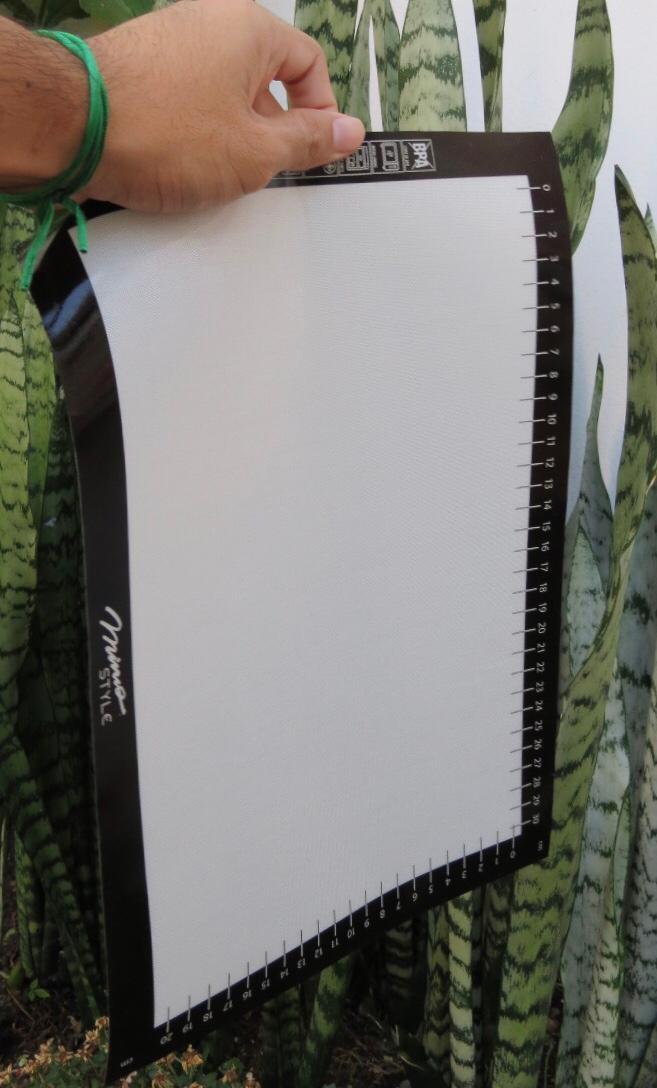 Tapete anti aderente culinário folha de silicone com fibra de vidro 25 x 35cm MimoStyle