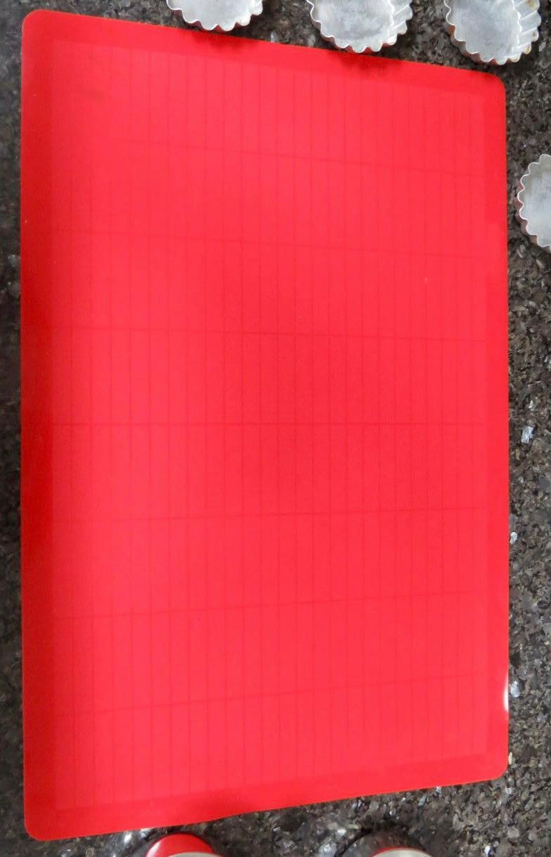 tapete culinário de silicone anti-aderente 43 x 28 cm