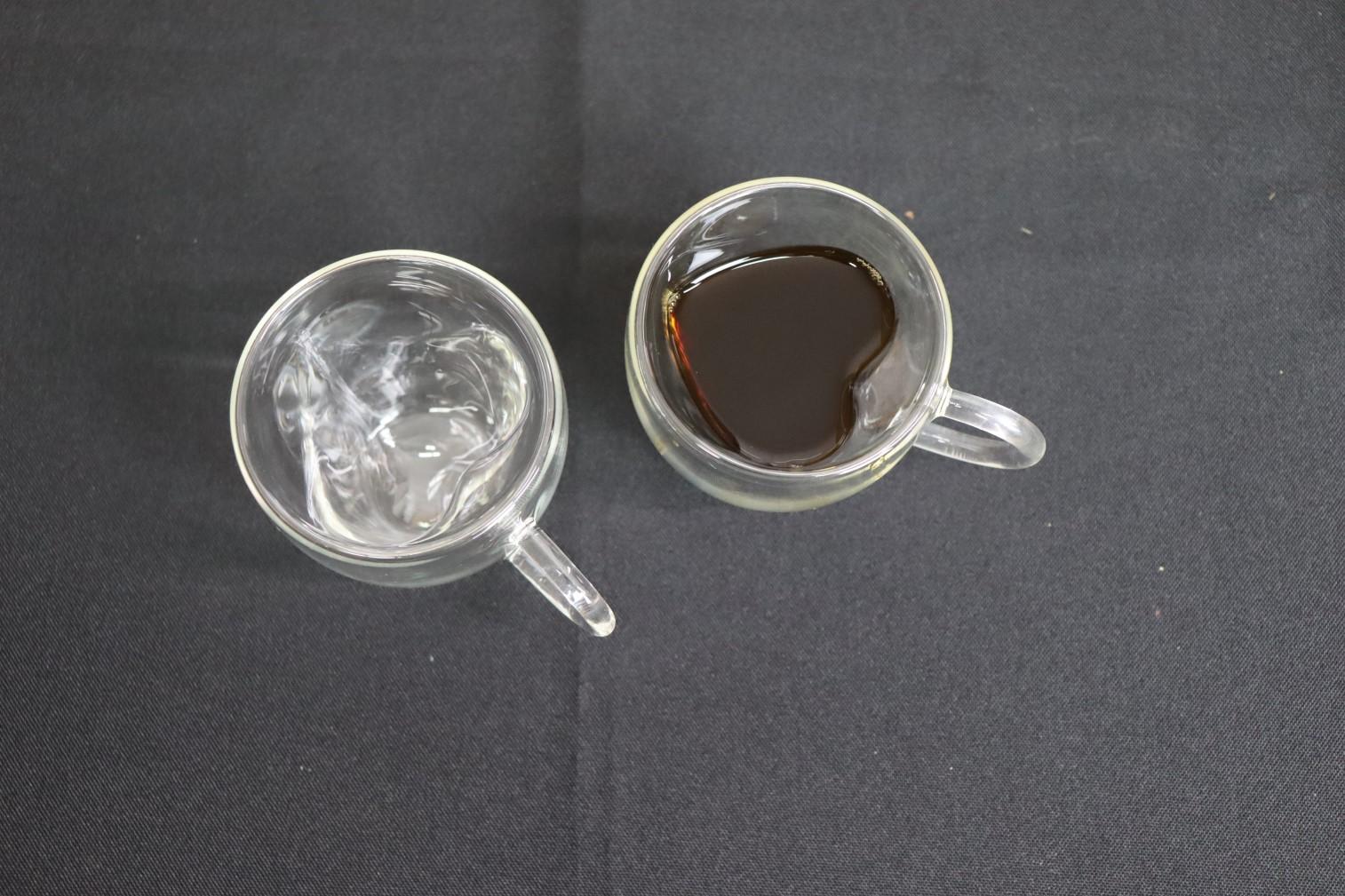 xícara de café parede dupla camada de vidro 2 unidades 80mL caneca de cafe nespesso dolcegusto